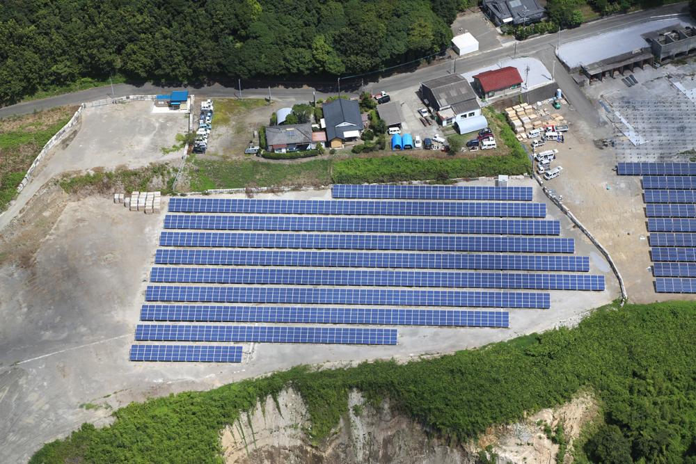 有明太陽光発電所 (500kW)