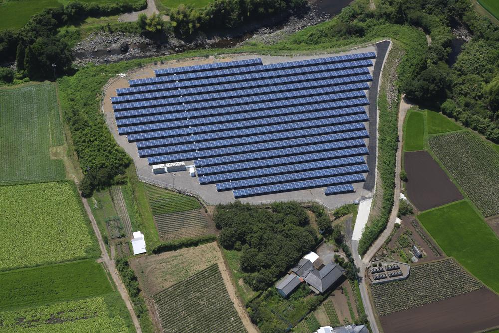 小林太陽光発電所 (1MW)