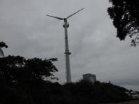 風力発電所完成
