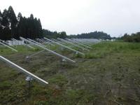 マエムラ岩川発電所 架台組立工事